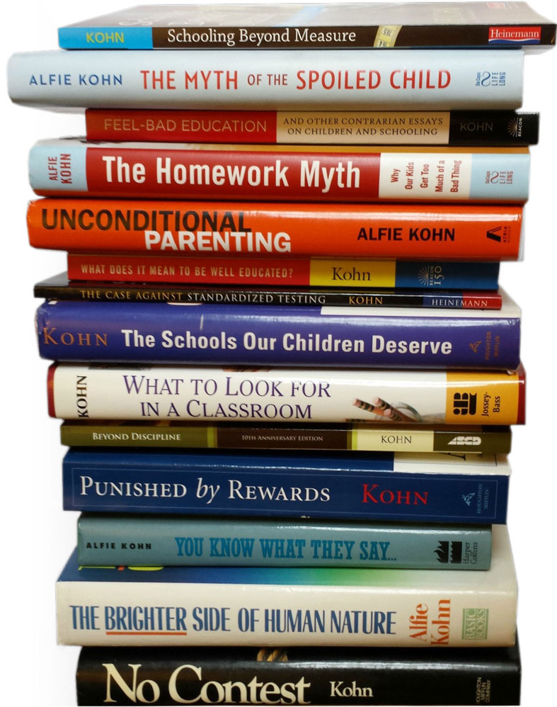 Modern Parenting Moving Beyond >> Books Page Alfie Kohn