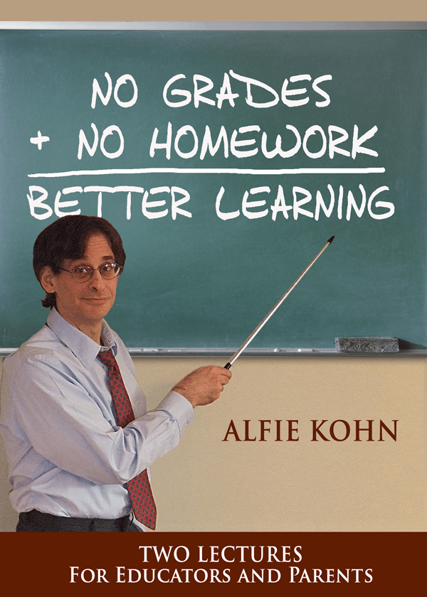 No Grades + No Homework = Better Learning DVD cover